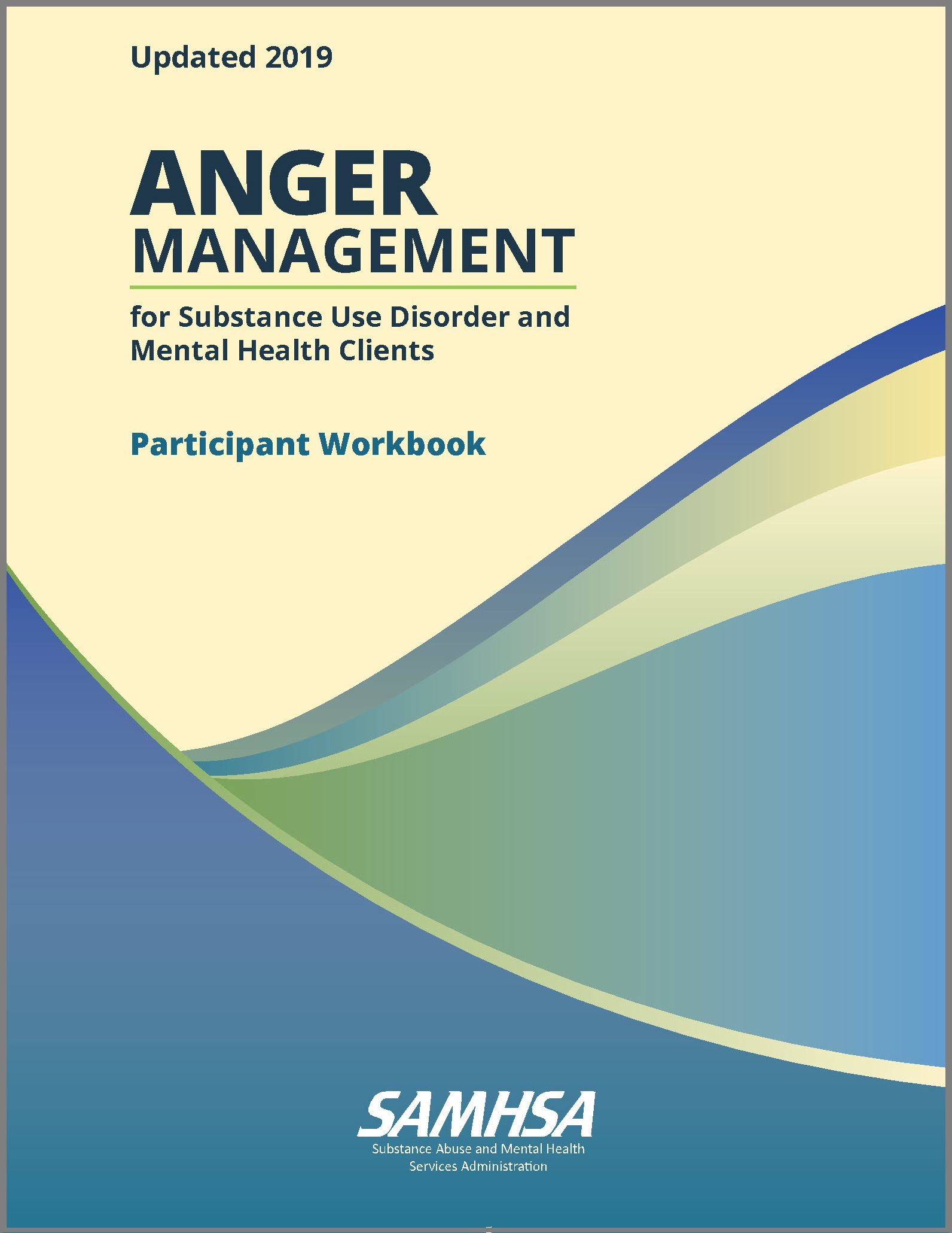 Anger Management For Substance Use Disorder And Mental Health Clients Participant Workbook Publications And Digital Products
