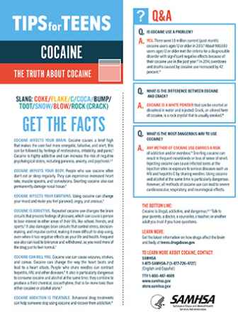 Tips for Teens: The Truth About Cocaine