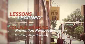College Drinking: Prevention Perspectives-Lessons Learned at Frostburg State University