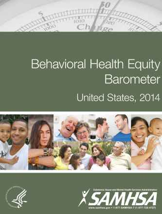Behavioral Health Equity Barometer, 2014