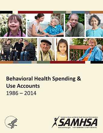 Behavioral Health Spending and Use Accounts, 1986-2014