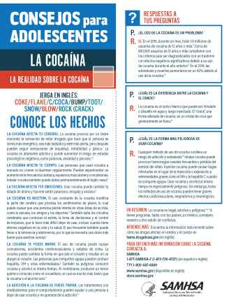 Tips for Teens: The Truth About Cocaine (Spanish Language Version) - Consejos para adolescentes: la realidad sobre la cocaína