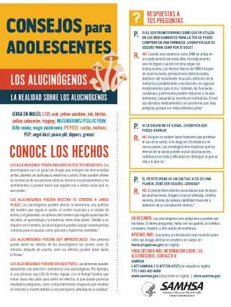 Tips for Teens: The Truth About Hallucinogens (Spanish Language Version) - Consejos para adolescentes: la realidad sobre los alucinógenos