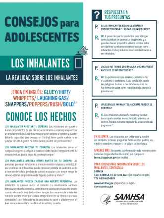 Tips for Teens: The Truth About Inhalants (Spanish Language Version) - Consejos para adolescentes: la realidad sobre los inhalantes