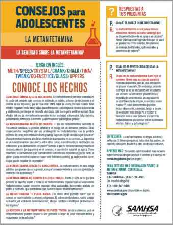 Tips for Teens: The Truth About Methamphetamine (Spanish Language Version) - Consejos para adolescentes: la realidad sobre la metanfetamina