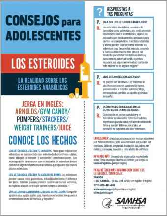 Tips for Teens: The Truth About Steroids (Spanish Language Version) - Consejos para adolescentes: la realidad sobre los esteroides