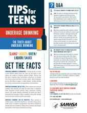 Tips for Teens: The Truth About Alcohol