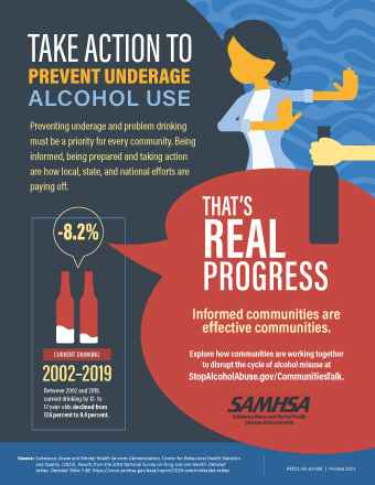 Take Action to Prevent Underage Alcohol Use